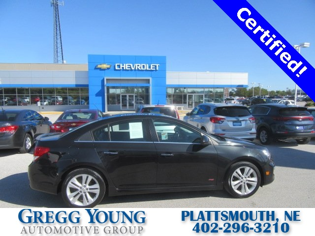 Certified Pre-Owned 2016 Chevrolet Cruze Limited LTZ