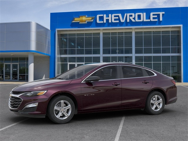 New 2020 Chevrolet Malibu LS 4D Sedan Black Cherry ...