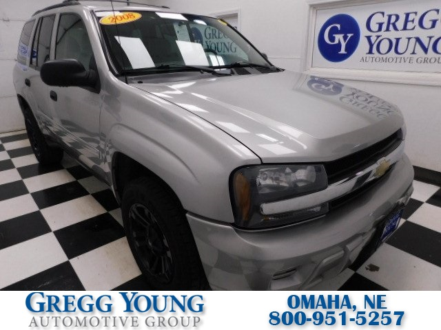 Pre-Owned 2008 Chevrolet TrailBlazer LS