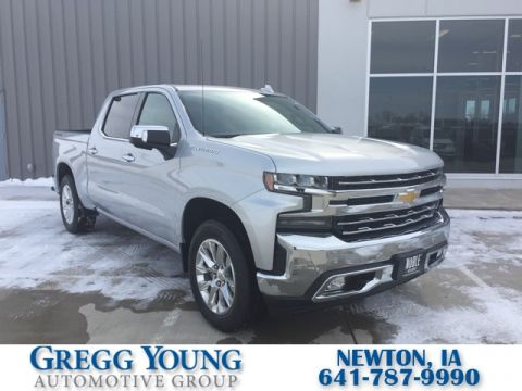 New 2019 Chevrolet Silverado 1500 LTZ 4D Crew Cab in Norwalk