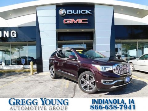 Certified Pre-Owned 2018 GMC Acadia Denali